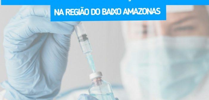 Prainha é o 2° colocado das cidades do Baixo Amazonas na vacinação contra Covid-19